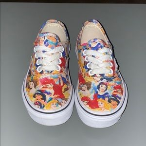 Kids size 11 Disney princess Vans